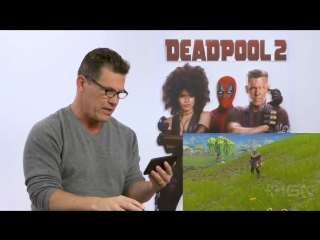 Watch Josh Brolin react to seeing himself as Thanos in Fortnite