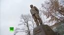 Путин открыл памятник Солженицыну в Москве