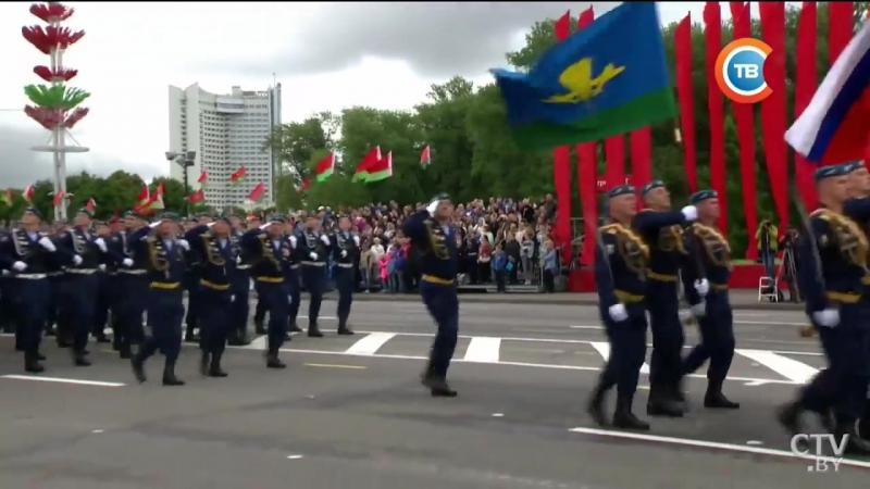 Парад в Минске 3 июля 2018г.День Независимости Беларуссии