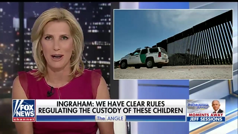 Laura Ingraham Compares Child Immigrant Detention Centers To Summer Camps