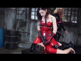 Cybill Troy and Bella Bathory - Latex Strap-on Slut Femdom, Strapon, Pegging, 1080p