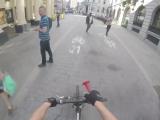 Война велосипедиста и пешеходов