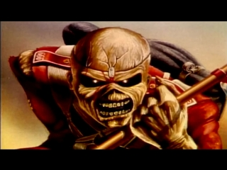 🎬 Iron Maiden - Wasted Years (1986)❆[FullHD]🎬