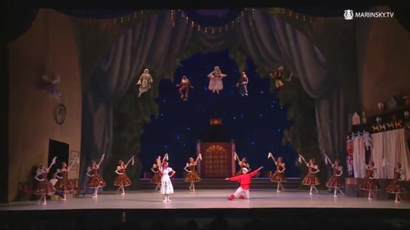 Фея кукол. Vaganova Ballet Academy. The Fairy Doll. HD