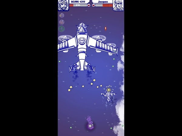 Doodle Combat - Army Air Force Planes Battle IOS-Android-Review-Gameplay-Walkthrough