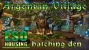 Argonian Village and Hatching Den