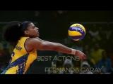 Top 10 Best Actions Fernanda Garay