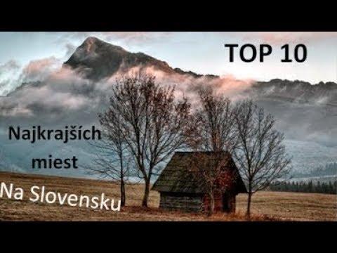 TOP 10 - Najkrajších miest na Slovensku