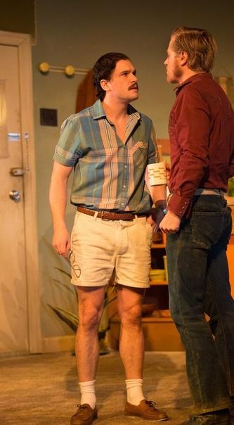 Лив Шрайбер Эмили Ратаковски Кит Хэрингтон играет в пьесе Сэма Шепарда «Истинный запад» Хафтор Бьёрнссон с упругой Келси