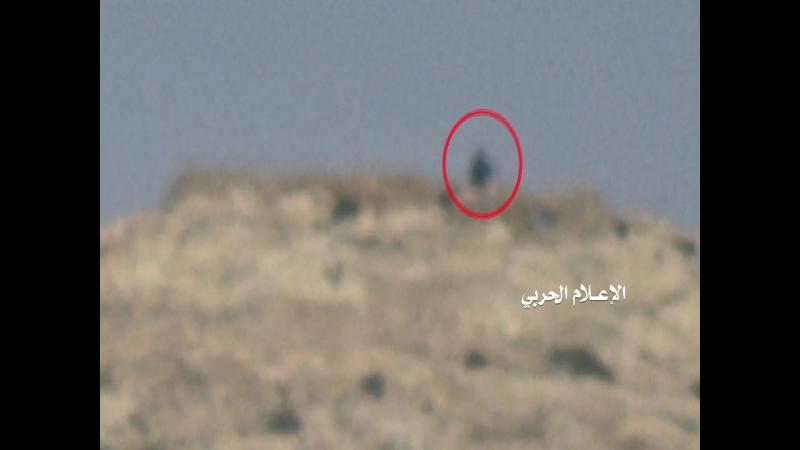 Снайпер хуситов подстрелили наёмника в Джизане.