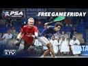 Squash: What a brutal game! - Momen v Makin - Free Game Friday