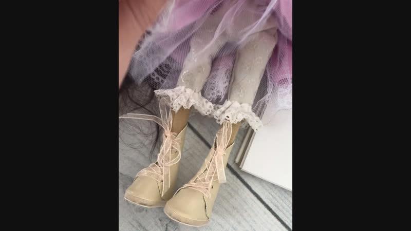 Текстильная куколка Лия