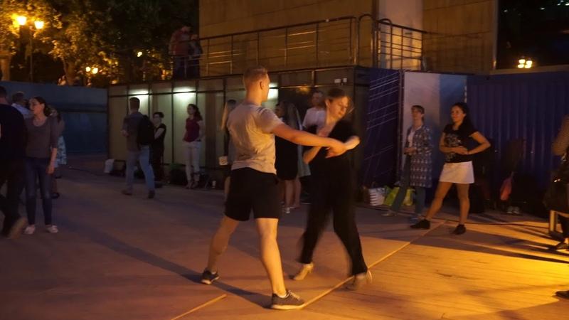Самба 1 Open air Бальные танцы в Парке Горького Москва 14 августа 2018