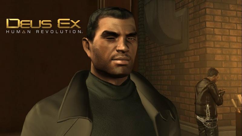 Deus Ex: H R ► Playing basketball(Играем в баскетбол) №6