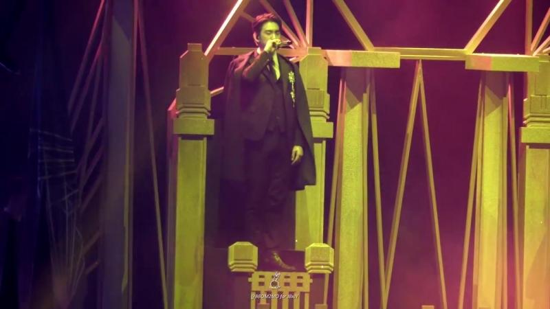[FANCAM:TOUR] 180824 Джинён и БэмБэм - King @ Концерт «GOT7 2018 World Tour: Eyes On You» в Гонконге.