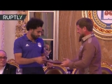 Egypt and Liverpool striker Mohamed Salah is now an honorary citizen of the Chechen Republic.