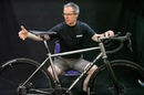 Ti Cycles gravel bike with 3-D printing