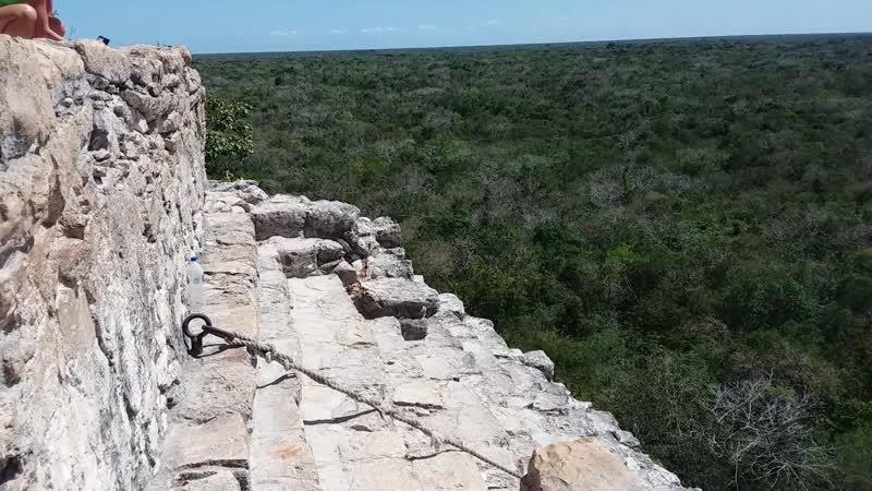 Coba. Пирамида Майя.