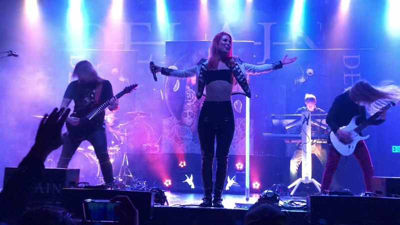 Delain, We Are the Others live at the Complex in SLC 2 May 2018