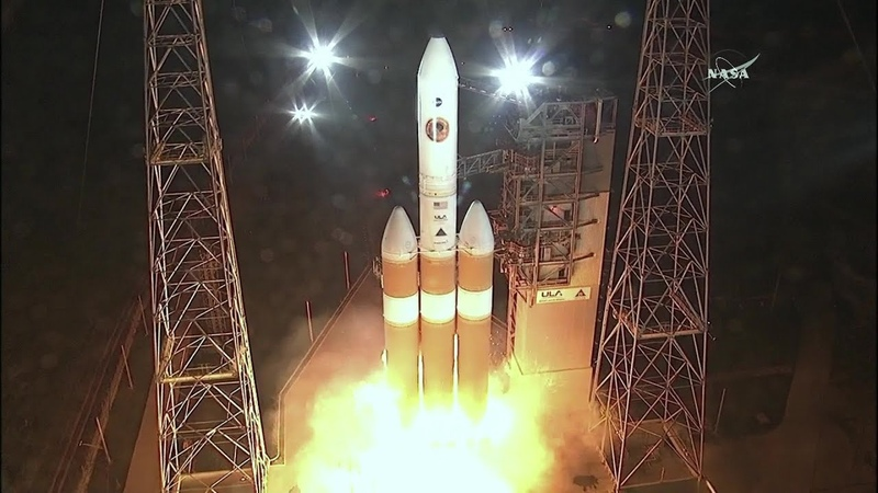 Launch of Delta IV Heavy with Third Stage NASA's Parker Solar Probe