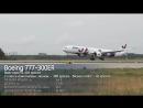 Встреча первого Boeing 777 в парке авиакомпании AZUR air