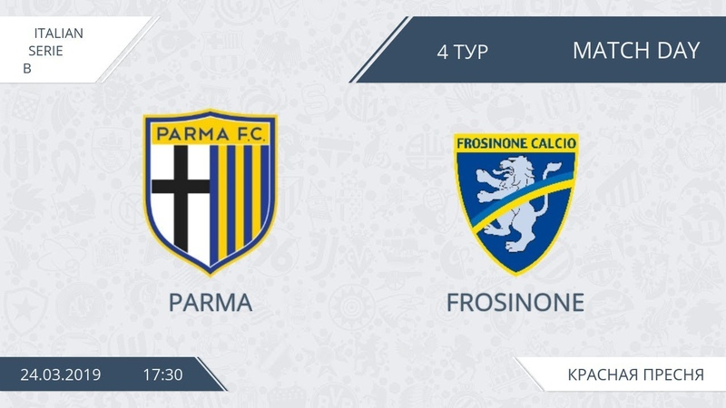 AFL19. Italy. Serie B. Day 4. Parma - Frosinone