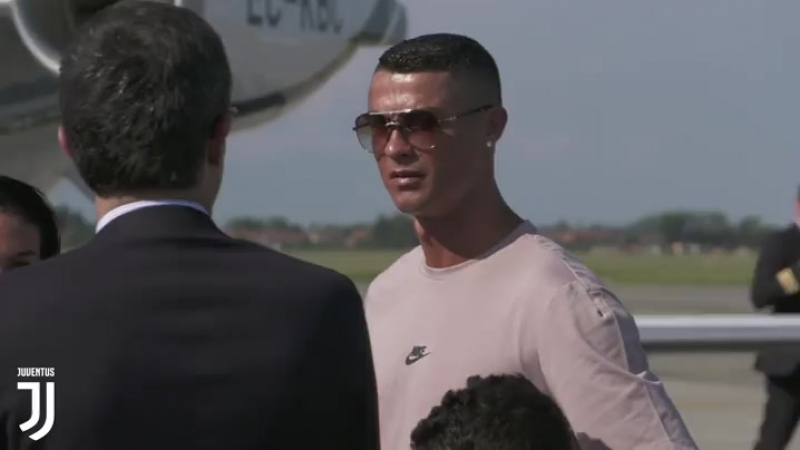 Cristiano Ronaldo The extraterrestrial is in Turin
