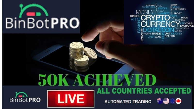 Bin Bot Pro Profit Crossed 50K! Automated Trading With BinBot Pro (Live)