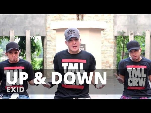 UP DOWN by Exid | Zumba | KPop | TML Crew Kramer Pastrana