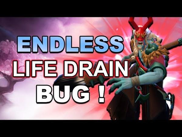 Dota 2 Tricks: NEW Endless Life Drain BUG ABUSE! 7.19d