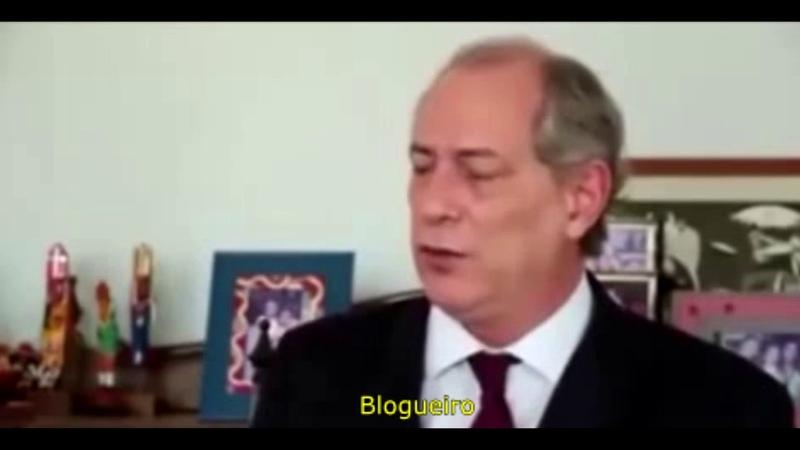 Ciro Gomes ameaça receber na Bala Moro e polícia federal. Ciro Gomes: Ele que mande me prender