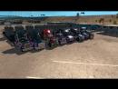 Открытый Конвой с Трансформаторами по American Truck Simulator