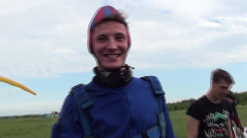 Мой первый прыжок с парашюта Незабываемые ощущения