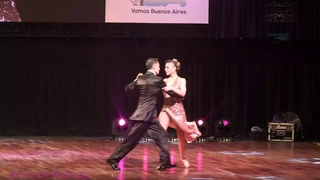 Julian Sanchez, Bruna Estellita, Final escenario, mundial de tango 2018