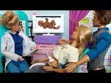 БАРБИ ЖДЕТ ТЕМНОКОЖЕГО РЕБЕНКА! Мультфильм с куклами.