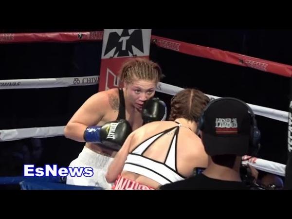 Boxing Star Elvina White Full Fight 360 Promotions EsNews Boxing
