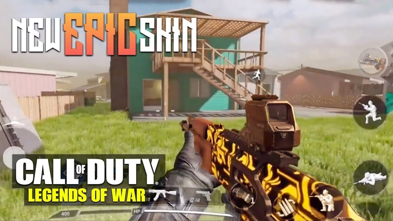 CALL OF DUTY MOBILE - NEW EPIC SKIN - TDM MULTIPLAYER BETA GAMEPLAY (iOSAndroid)