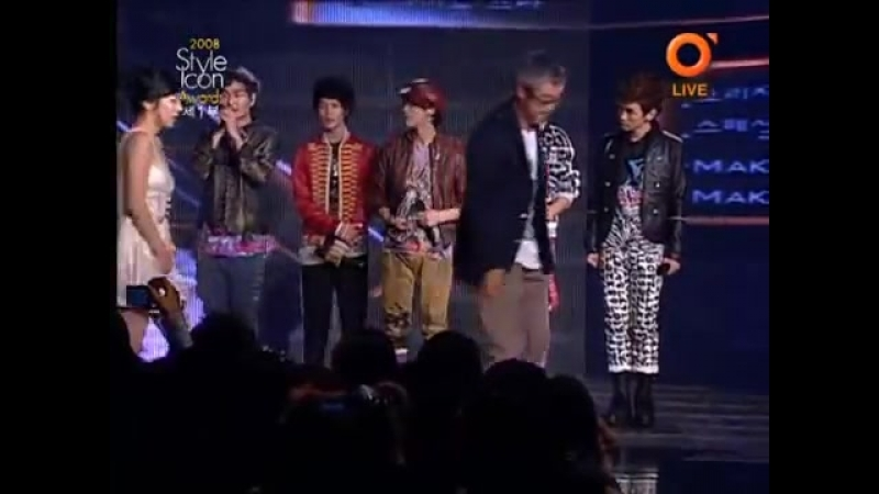 081030 Style Icon Awards - SHINee (Step by Step / Bilie Jean / Replay)