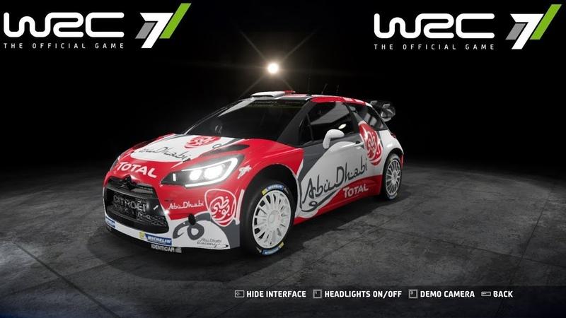 Citroën Total Abu Dhabi WRT Rally Italia Sardegna WRC 7 GamePlay ✅ ⭐ 🎧 🎮