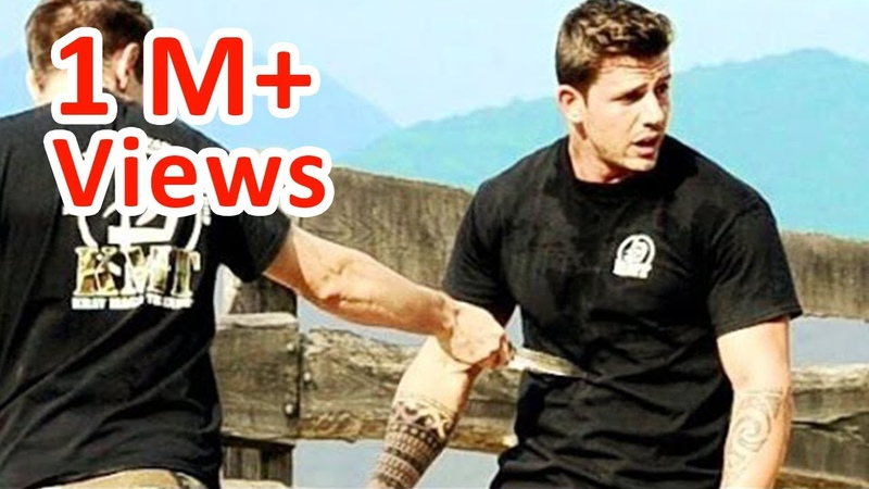 KRAV MAGA TRAINING How to survive a Knife attack part 3 of 4