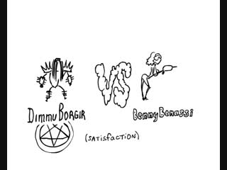 Dimmu borgir - satisfaction vs benny benassi