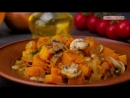 Тыква, тушеная с грибами - Рецепты от Со Вкусом