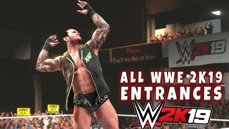 WWE 2K19 ALL Superstar Entrances