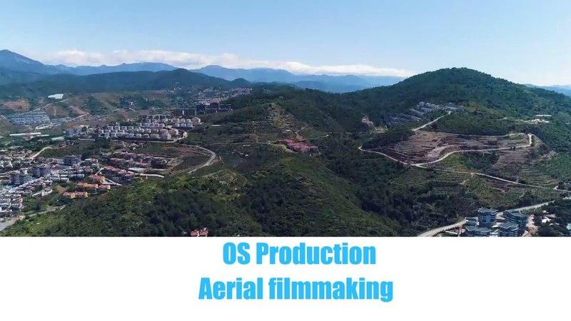Полёты. Район Каргыджак и Махмутлар. OS Production.