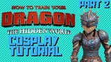 Astrid Armour Cosplay p2. (HTTYD 3 Cosplay Tutorial)