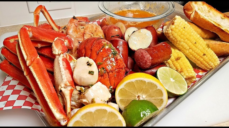 EASY SEAFOOD BOIL RECIPE Seafood Boil Butter Sauce Recipe How to Make A Seafood Boil