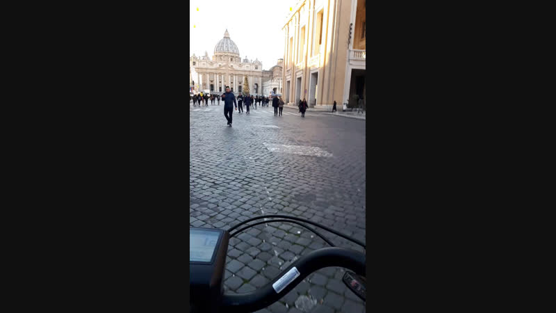 Ватикан на вело!