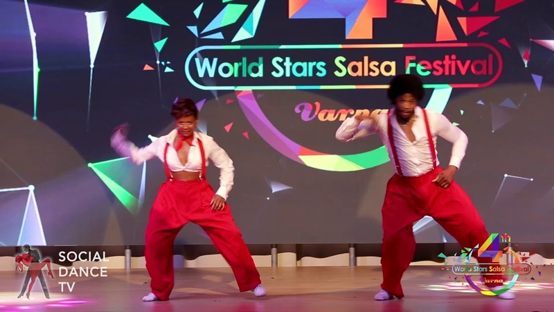 Terry Cécile (SalsAlianza) - Dance Show | 4th World Stars Salsa Festival