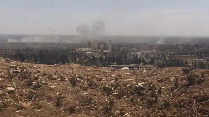 Операции Сирийской армии против террористов