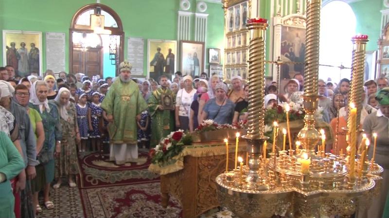 Престольный праздник храма св. Онуфрия Великого города-курорта Анапа